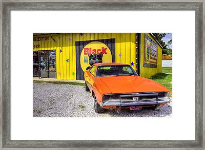 It's A Southern Thing Framed Print by JC Findley