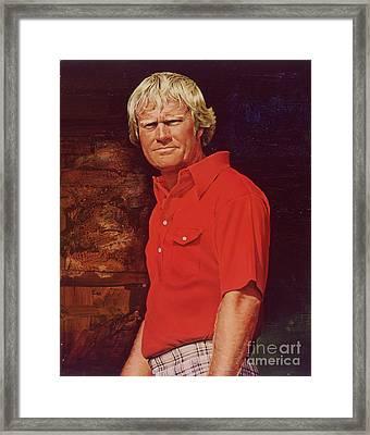 The Golden Bear Framed Print by David Kilmer