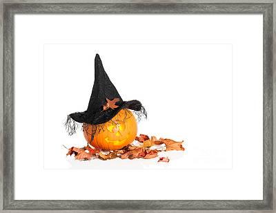 Jack O Lantern Framed Print
