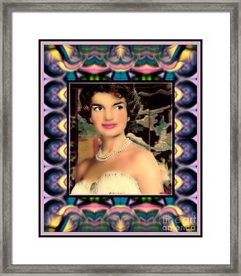 Jacqueline Framed Print by Wbk