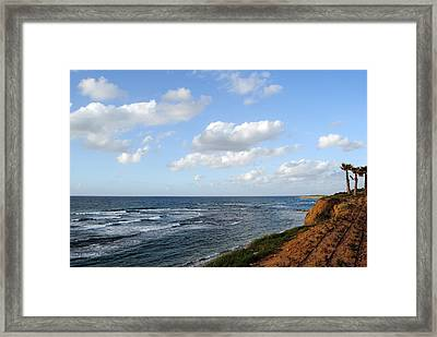 Jaffa Beach 5 Framed Print by Isam Awad