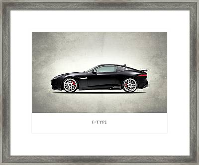 Jaguar F Type Framed Print