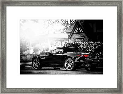 Jaguar F Type S  Framed Print by Darek Szupina Photographer