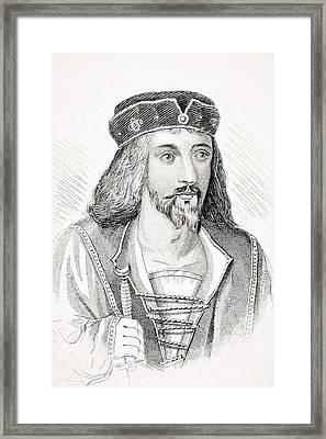 James I 1566-1625 King Of Scotland As Framed Print