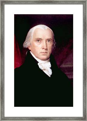 James Madison 1751-1836, U.s. President Framed Print by Everett
