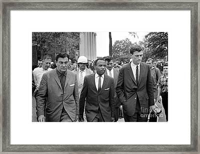 James Meredith (1933- ) Framed Print