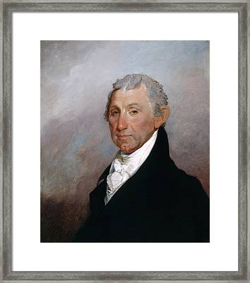 James Monroe Framed Print