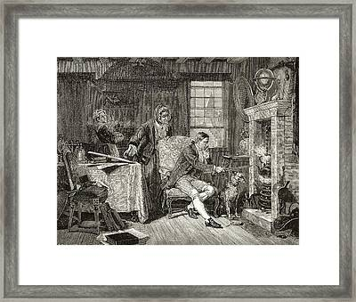 James Watt 1736 - 1819. Scottish Framed Print by Vintage Design Pics
