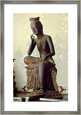 Japan: Buddha, C606 A.d Framed Print by Granger