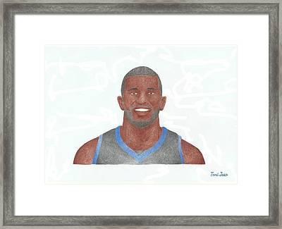Jason Richardson Framed Print
