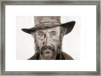 Jason Robards As Cheyenne In Once Upon A Time In The West Framed Print