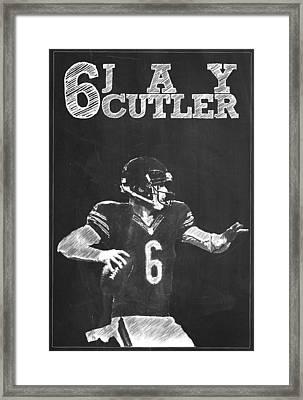 Jay Cutler Framed Print