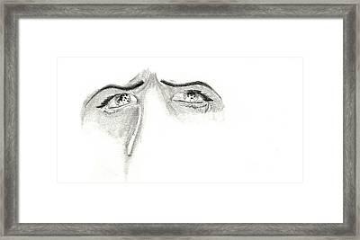 Je M'ennuie De Mon Amour  Framed Print