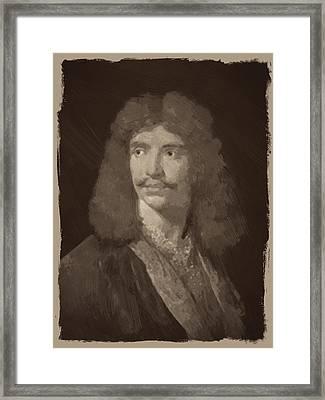 Jean Baptiste Moliere Framed Print