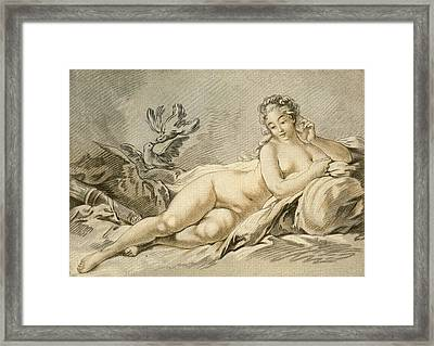 Jeanne Antoinette Poisson, Marquise De Framed Print by Vintage Design Pics