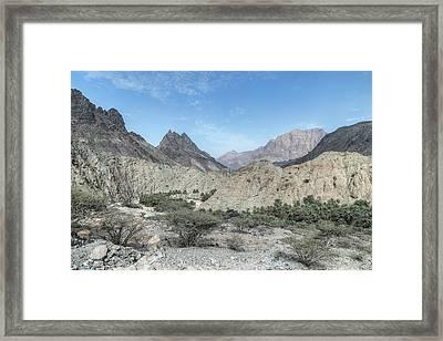 Jebel Shams - Oman Framed Print by Joana Kruse