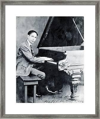 Jelly Roll Morton, American Jazz Framed Print