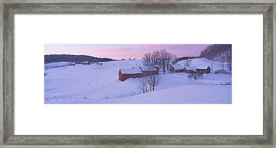 Jenny Farm, South Of Woodstock, Vermont Framed Print by Panoramic Images