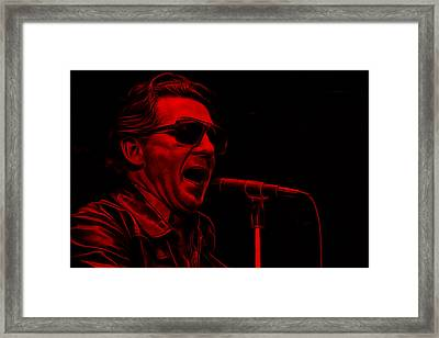 Jerry Lee Lewis Collection Framed Print by Marvin Blaine