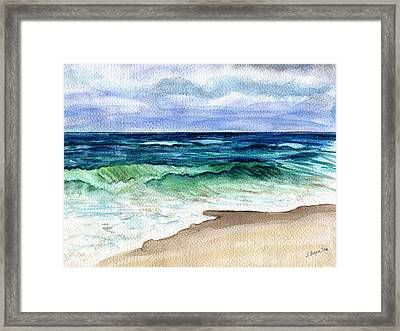 Jersey Shore Framed Print