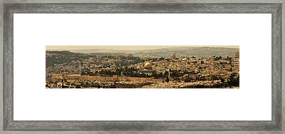 Jerusalem Framed Print by Amr Miqdadi