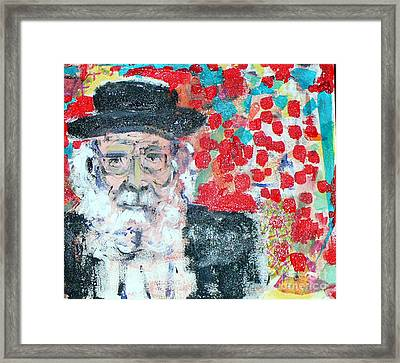 Jerusalem Man Framed Print