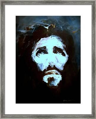 Jesus - 4 Framed Print by Jun Jamosmos