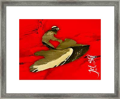 Jet Ski Collection Framed Print by Marvin Blaine
