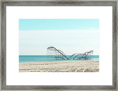 Jet Star In The Sea Framed Print