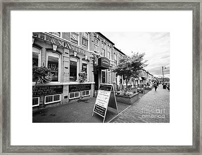 Jewellery Shops On Vyse Street Jewellery Quarter Birmingham Uk Framed Print