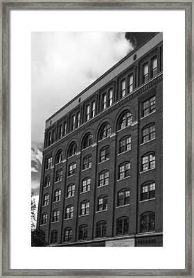 Jfk The Sixth Floor Framed Print by William Jones
