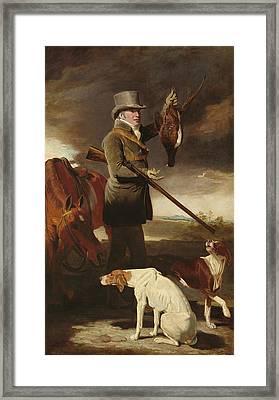 J.g. Shaddick, The Celebrated Sportsman Framed Print by Benjamin Marshall