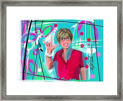 Jill Framed Print by Nicole Slater