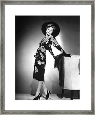Joan Fontaine, 1940s Framed Print
