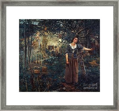 Joan Of Arc C1412-1431 Framed Print by Granger