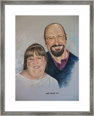 Joe And Patsy Framed Print