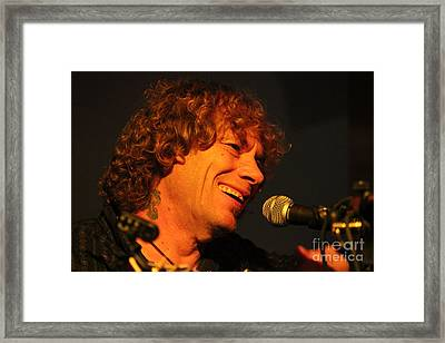 Framed Print featuring the photograph Joey Sexton by Jesse Ciazza