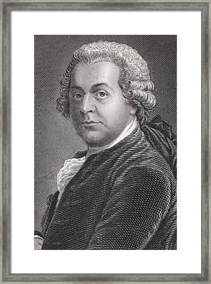 John Adams 1735 - 1826. First Vice Framed Print by Vintage Design Pics