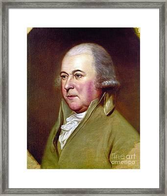 John Adams (1735-1826) Framed Print by Granger