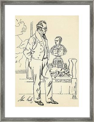John Galt, 1779-1839. Scottish Author Framed Print