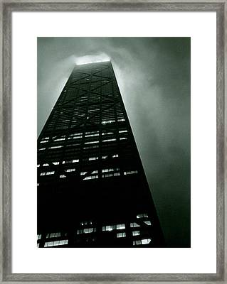 John Hancock Building - Chicago Illinois Framed Print