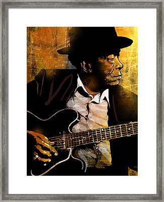 John Lee Hooker Framed Print by Paul Sachtleben