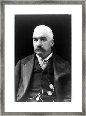 John Pierpont Morgan, Financierbanker Framed Print