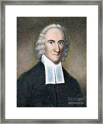 Jonathan Edwards Framed Print by Granger