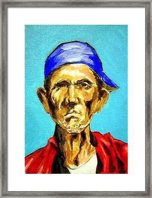 Jose Framed Print by George Penon Cassallo