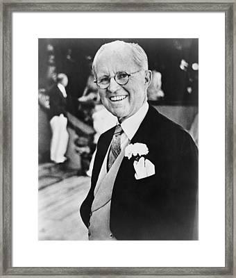Joseph P. Kennedy 1888-1969 Framed Print by Everett