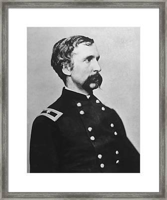 Joshua Lawrence Chamberlain  Framed Print