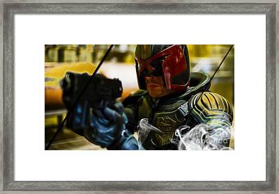Judge Dredd Collection Framed Print