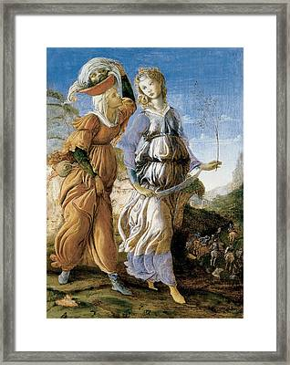 Judith With The Head Of Holofernes Framed Print by Sandro Botticelli
