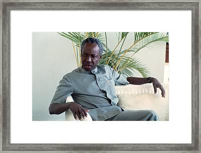 Julius Nyerere Framed Print